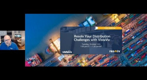 Resolv your Distribution Challenges with VistaVu