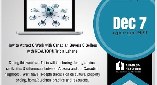 Attracting & Working With Canadian Clients 12.7.2015