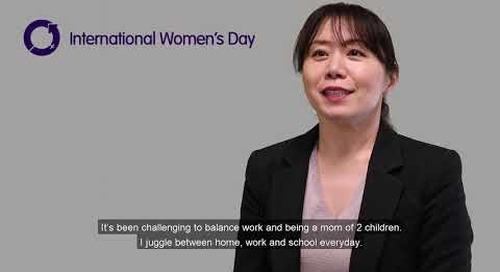 International Women's Day series- Kumie Yagi #BalanceforBetter