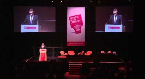 Antony Jenkins, BITC chairman, speaking at the Responsible Leadership Summit 2015