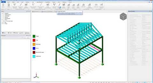 Timber Design Using the Tekla Tedds Export Link