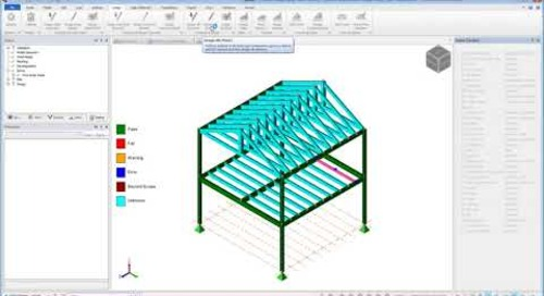 Timber Design Using the Tekla Tedds Export Link