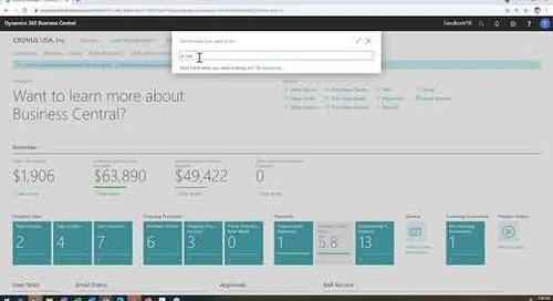 Dynamics 365 Business Central April 2021 Release: Email Enhancements