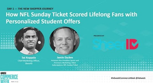 How NFL Sunday Ticket Scored Lifelong Fans with Personalized Student Offers - Webinar