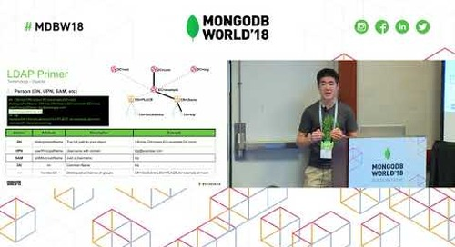 Tutorial User Administration Without You Integrating LDAP with MongoDB
