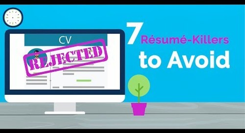 7 Résumé-Killers To Avoid
