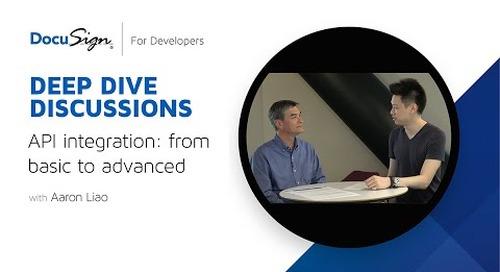 DocuSign Developer: API Integration from Basic to Advanced