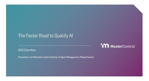 The Faster Road to Quality AI