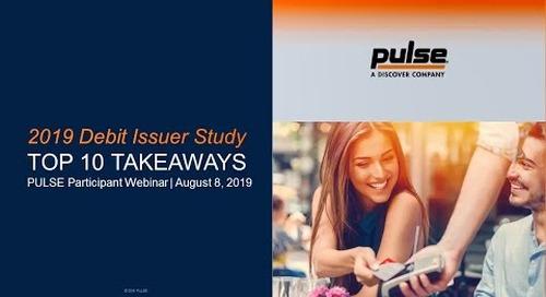 2019 Debit Issuer Study Top 10 Takeaways