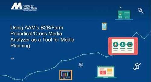 Media Planning with AAM B2B/Farm Data [webinar]