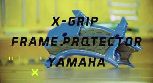 X-GRIP FRAME PROTECTOR YAMAHA - Installation Guide