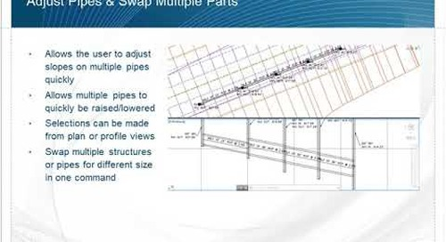 Overview of IMAGINiT Utilities for Civil 3D 2019