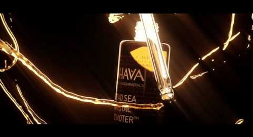 [Video] A Thing of Beauty: New AHAVA Dead Sea Crystal Osmoter™ Facial Serum