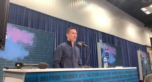 Green Bay Packers HC Matt Lafleur on how Notre Dame Prepared him to Evaluate for the NFL Draft