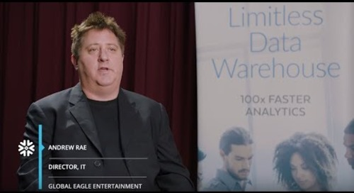 Global Eagle Entertainment: Fueling Growth with Fast, Transparent Data Processes