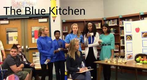 Casey Middle School - Teen Iron Chef Project