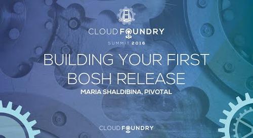 BOSH - Building a Release