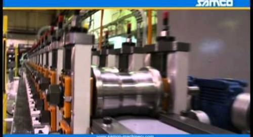 Samco Machinery HVAC Full Rollforming Line