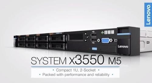 Lenovo System x3550 M5 Product Video