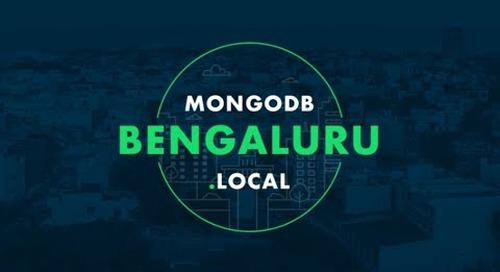 MongoDB.local Bengaluru Keynote
