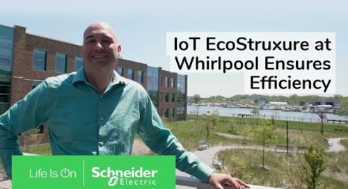 IoT EcoStruxure at Whirlpool Ensures Efficiency