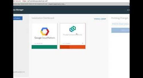 Install PKS on Google Cloud Platform