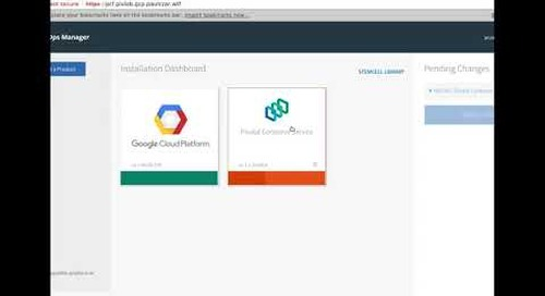 Install PKS on Google Cloud Platform