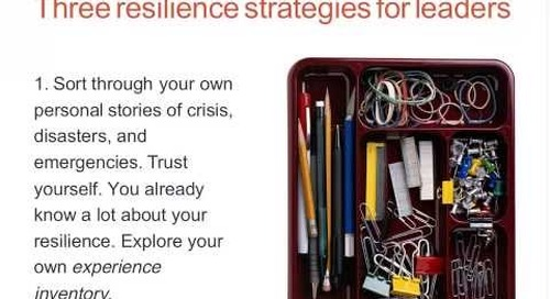 How do Leaders Prepare Themselves for a Workplace Crisis