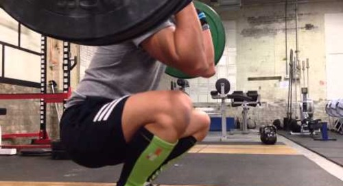 Olympic Weightlifting - Clean & Jerk practice Nov 18, 2013