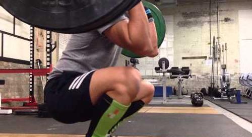Olympic Weightlifting - Clean & Jerk practice Nov 18, 2013