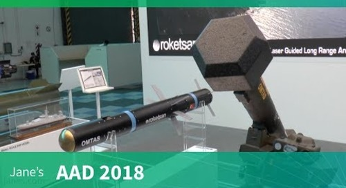 AAD 2018: Roketsan OMTAS medium-range anti-tank weapon system