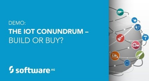 Demo: The IoT Conundrum – Build or Buy?