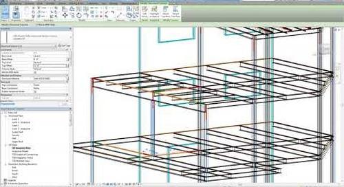 Tekla Structural Designer to Revit Integration