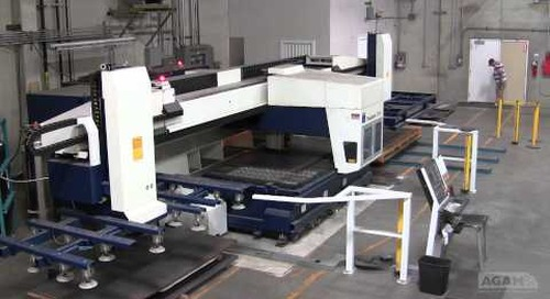 Laser Cutting Center Capability Video