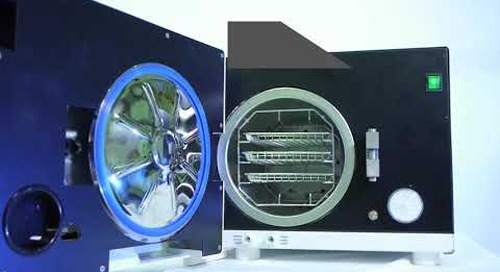 MDS Vacuum Autoclave with LCD