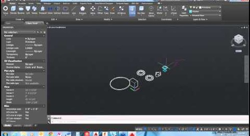 Welcome to the 3rd Dimension: An Introduction to 3D Modeling in AutoCAD