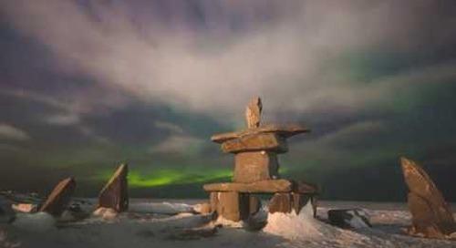 Northern Lights Season in Churchill, Manitoba