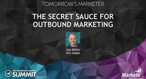 The Secret Sauce for Outbound Marketing