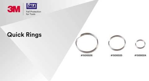 Get tether-ready with 3M™ DBI-SALA® Quick Rings