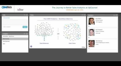 The Journey to Better Sales Analytics at UpCounsel