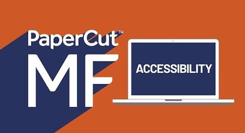 Accesibilidad de PaperCut MF