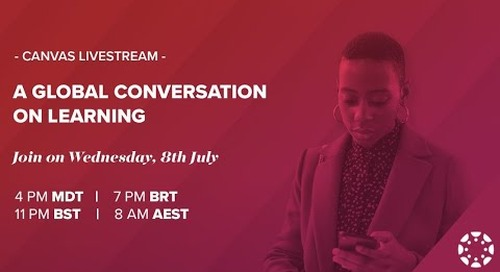 Livestream: A Global Conversation on Learning