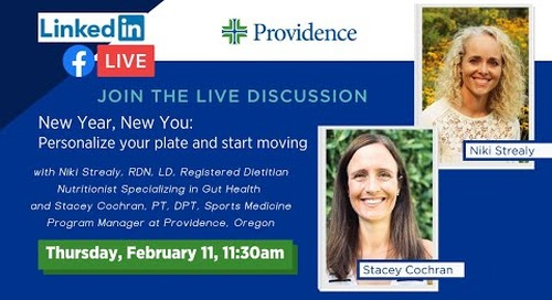 New Year, New You: Personalize your plate and start moving