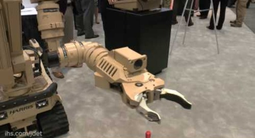 AUSA 2016: Harris Corporation T7 Robot