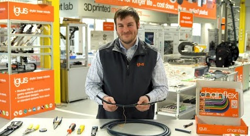 chainflex® flexible cables - How to strip and prepare a cable for termination