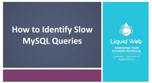 MySQL Performance: Identifying Long Queries