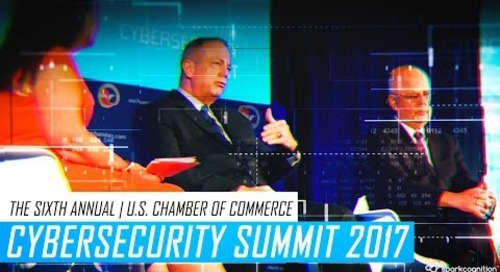 U.S. Chamber of Commerce Cybersecurity Summit 2017 - SparkCognition Recap