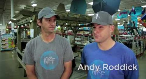 RetailMeNot Challenges Andy Roddick to a Shopping Spree for the 4th Year in a Row!