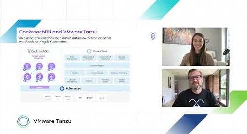 VMware Tanzu Interview with Cockroach Labs