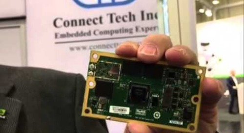 Embedded World 2016 Video: Connect Tech, NVIDIA partner on go-to market Jetson platform